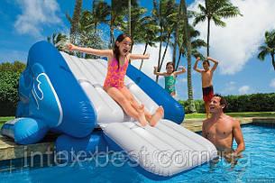 Игровой центр-бассейн Intex 58851 Горка 343х206х127см для детей от 6 лет, фото 2