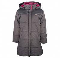 Пальто зимнее Gusti 6460 GWG, цвет серый размер 119см