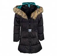 Пальто зимнее Gusti 6462 GWG, цвет черный