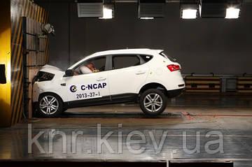 Кроссовер JAC S5 получил 5 звезд по результатам краш-теста C-NCAP