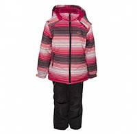 Комплект зимний , куртка и комбинезон Gusti 3003 GWG, цвет розовый