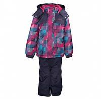 Комплект зимний, куртка и комбинезон Gusti 3009 GWG, цвет розовый