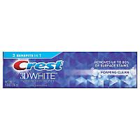 Уход за полостью рта Crest Зубная паста Crest 3D White Foaming Clean Whitening Toothpaste Отбеливающая 136 г