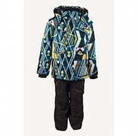 Комплект зимний, куртка и комбинезон Gusti 3046 GWB, цвет зеленый