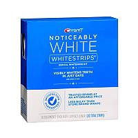 Уход за полостью рта Crest Отбеливающие полоски для зубов Crest Noticeably White Whitestrips Dental Whitening Kit 20 шт