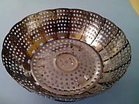 Пароварка металическая с ножками (код 02543)