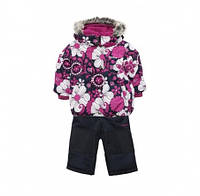 Комплект зимний, куртка и комбинезон Gusti 3221 ZWG цвет бордовый