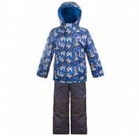 Комплект зимний, куртка и комбинезон Gusti 5075 SWB цвет синий
