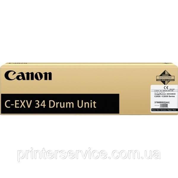 Фотобарабан Canon C-EXV34 BLACK для IRAC2020/2030 series