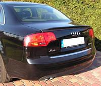 Лип-Спойлер кромки багажника для Audi A4 B7 (2004-) АБС-пластик