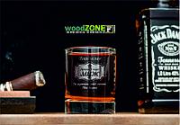 Именной стакан для виски «Лучший в мире муж»