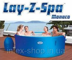 BestWay Бассейн СПА с эффектом джакузи Lay-Z-Spa Monaco 54113