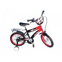 """Велосипед двухколёсный Lexus Bike 16"""" чёрно-красный"""
