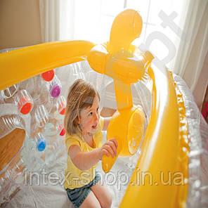 Надувной игровой центр Подводная лодка Intex 48664 Ball Toyz See-Thru Submarine Playhouse (от 3 до 6 лет), фото 2
