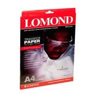 Термотрансфер для струйной печати для светлых тканей LOMOND, 140g/m2, A4, 50л 0808415