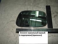 Зеркало заднего вида правое (стекло) Geely MK