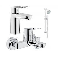 Акционный набор смесителей Grohe BauLoop для ванны(123214), фото 1