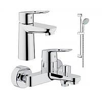Акционный набор смесителей Grohe BauLoop для ванны(123214)