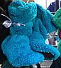 Тапочки сапожки махровые  оптом 36-40 голубые
