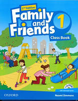 Учебник по английскому языку Family and Friends 1 Second Edition Class Book + MultiRom