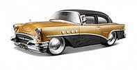 MAISTO Автомодель (1:26) 1955 Buick Century золотистый - тюнинг