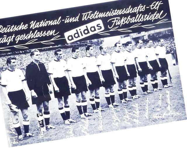 Команда по футболу сборной Германии 1954