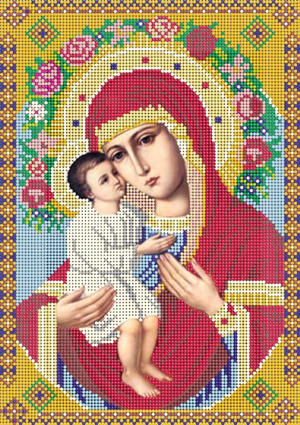 Вышивка бисером жировицкая божья мать