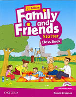 Учебник по английскому языку Family and Friends Starter Class Book + MultiRom (2nd Edition)