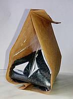 Пакет стабило 100*170 крафт + прозрачные фальцы