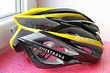 Шлем велосипедный Giro ionos yellow, фото 3