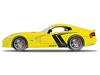 MAISTO Автомодель (1:24) 2013 SRT Viper GTS жёлтый - тюнинг