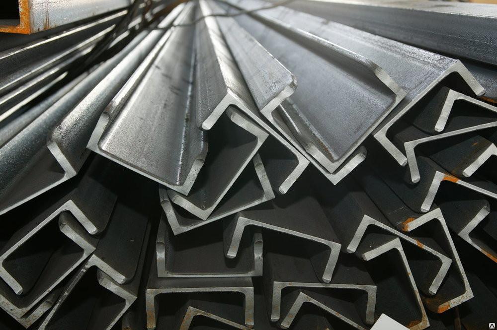 Швеллер гнутый  стальной 160х80х4 мм  цена купить доставка  порезка