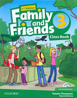 Учебник по английскому языку Family and Friends 3 Second Edition Class Book + MultiRom