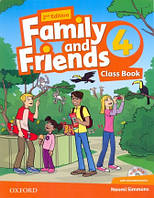 Учебник по английскому языку Family and Friends 4 Second Edition Class Book + MultiRom