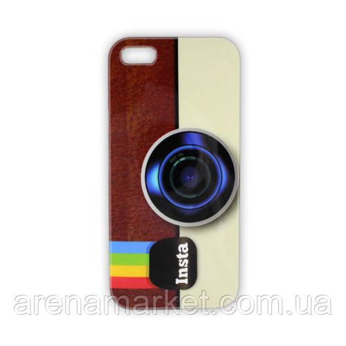 Чехол на iPhone 5/5S Ретро камера Instagram