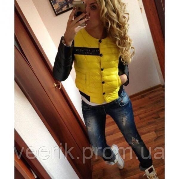 3ed506afd988 Женская демисезонная куртка с накаткой