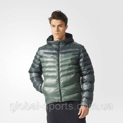 Мужская зимняя куртка adidas Filled Allover Print Jacket (АРТИКУЛ:AP9546)