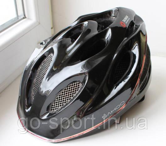 Велосипедный шлем Sahoo black