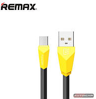 Кабель micro USB Remax Aliens ✔ цвет: желтый-черный