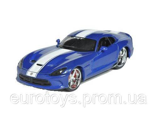 MAISTO Автомодель (1:24) 2013 SRT Viper GTS синий металлик - тюнинг - Интернет-магазин EUROTOYS.COM.UA в Киеве