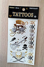 Флэш-тату(Flash Tattoos) MC-J-3034