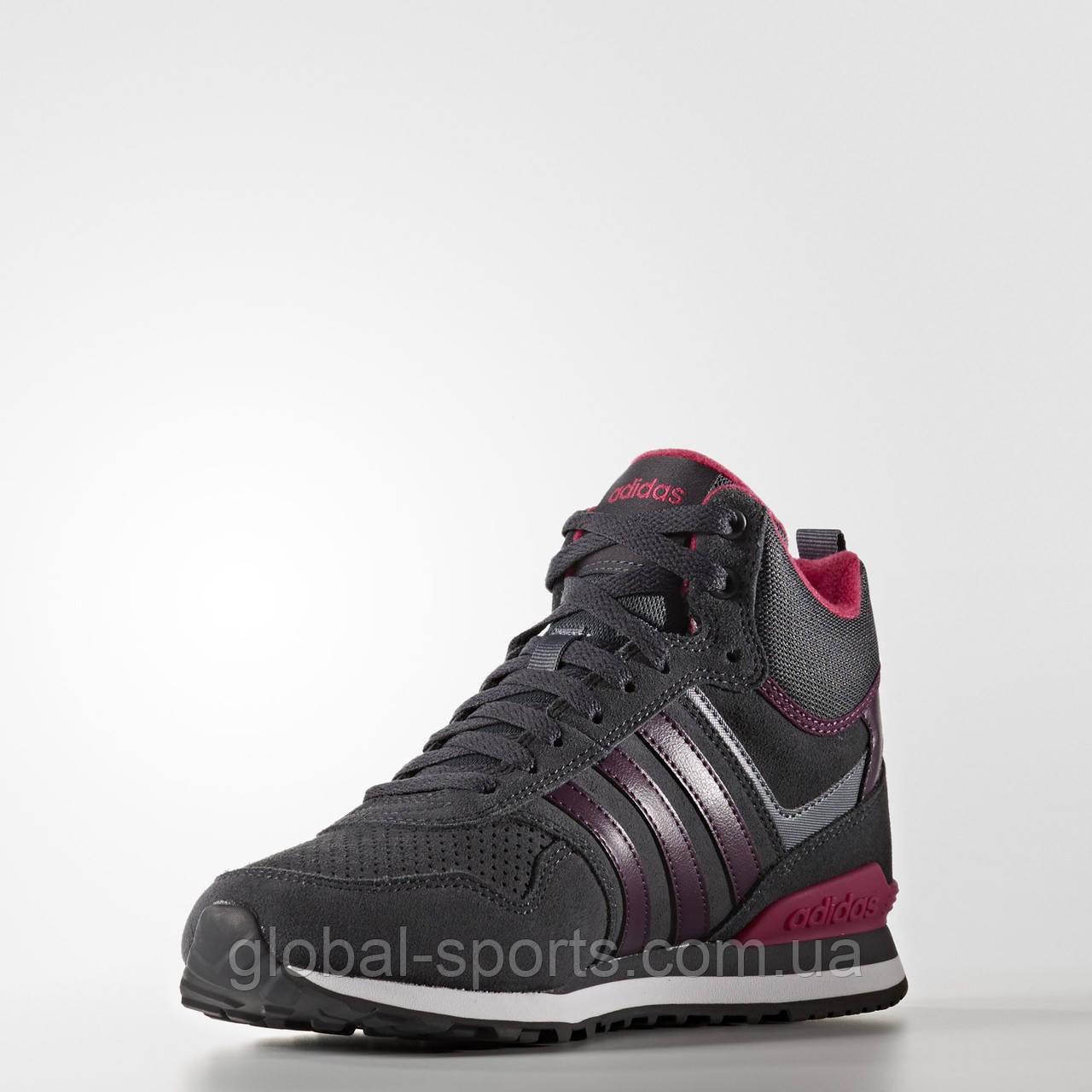 Женские зимние кроссовки Adidas 10XT Winter Mid W (Артикул:AW5245)