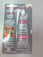 Герметик высокотемпературный большой 999 (серый)