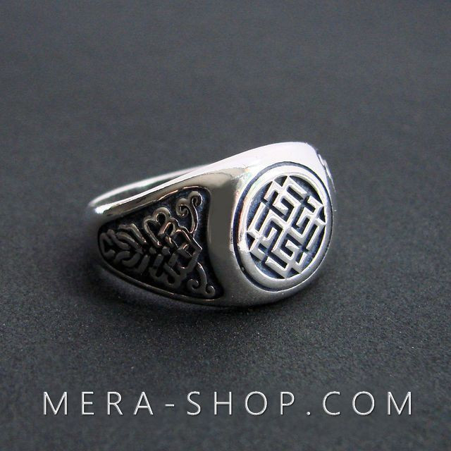 Сварожич перстень из серебра 925 пробы