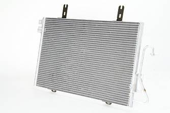 Радиатор кондиционера на Renault Kangoo 97->2008 1.5dCi+1.2+1.6 — Thermotec (Китай) - KTT110085