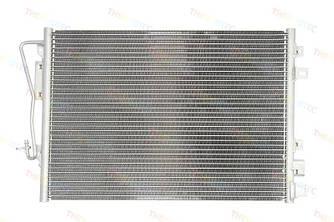 Радиатор кондиционера на Renault Kangoo 97>2008 1.5dCi+1.9dCi+1.2+1.6  — Thermotec (Китай) - KTT110060
