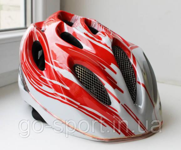 Велосипедный шлем Sahoo red