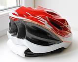Велосипедный шлем Sahoo red, фото 2
