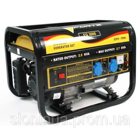 Генератор бензиновый FORTE FG3500