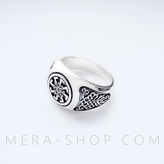 Свитовит перстень славянский оберег из серебра